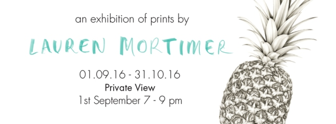 Lauren Mortimer Exhibition_Of Cabbages and Kings_Fb banner